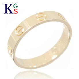 【サステナブル&ギフト品質】【名入れ】カルティエ/Cartier / ジュエリー リング 指輪 レディース メンズ / ミニラブリング K18YG イエローゴールド / B4085000 1015