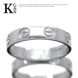 【新古品】【6号-23号】カルティエ/Cartier / ウェディング マリッジリング ミニラブリング / レディース メンズ ジュエリー 結婚指輪 / Pt950 プラチナ / B4085300