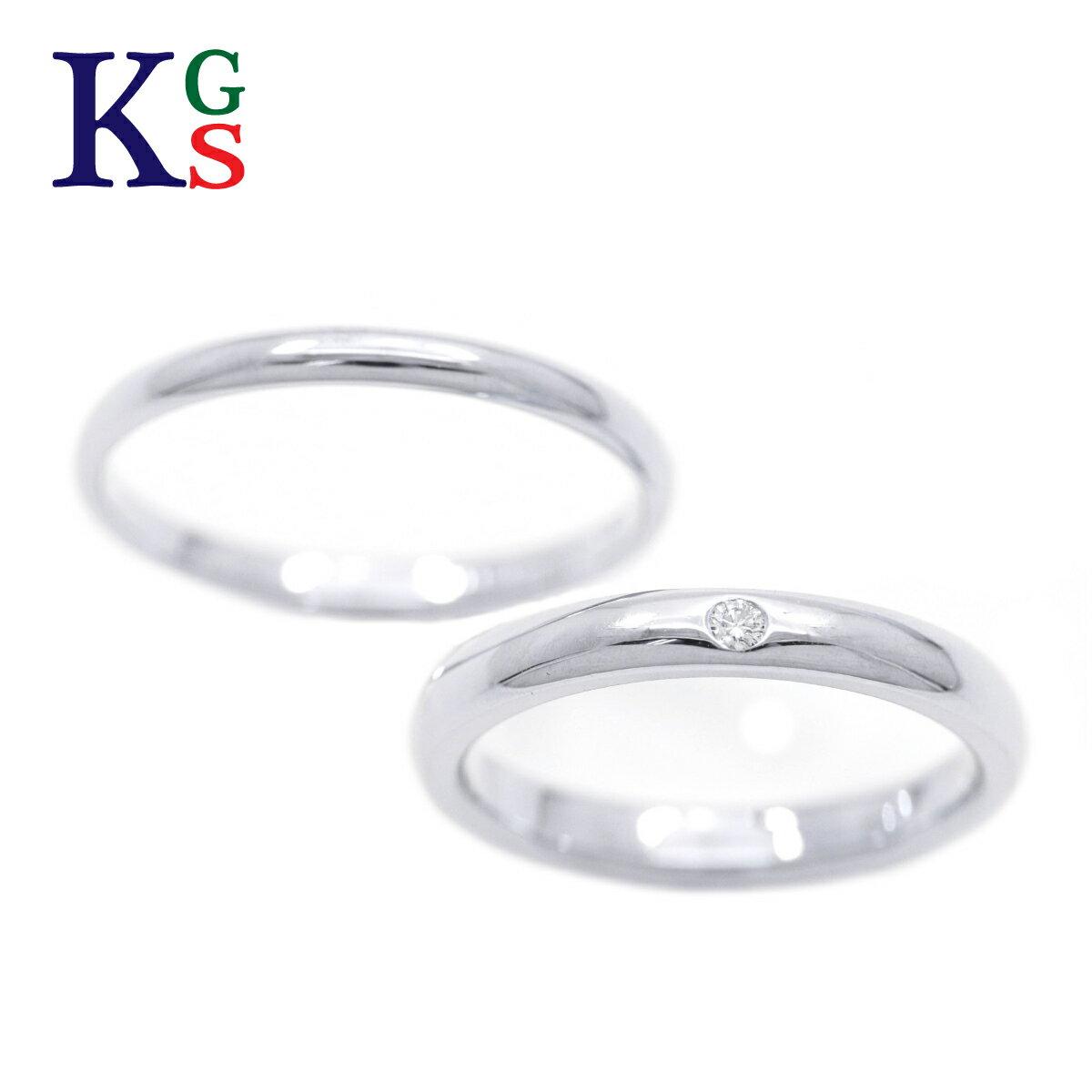【新古品】【セット販売】【4号-23号】ティファニー/Tiffany&Co ペアリング / スタッキングバンドリング クラシックバンドリング / レディース メンズ マリッジリング 結婚指輪 Pt950 プラチナ