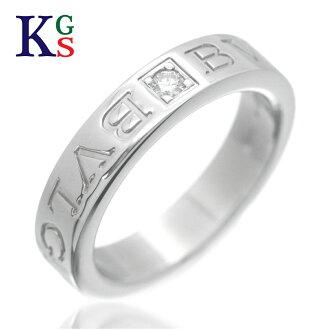 Karyon Bulgari Bvlgari Ring Lady S Men 1p Diamond White Gold K18wg Rakuten Global Market