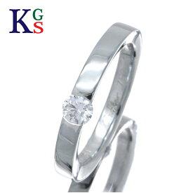【新古品】【0.21ct】カルティエ/Cartier レディース ジュエリー 1Pダイヤ エンゲージリング/婚約指輪 ホワイトゴールド K18WG