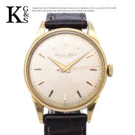 【アンティーク】IWC インターナショナルウォッチカンパニー シャフハウゼン 手巻き 腕時計 K18YG 750 イエローゴールド 誕生日 記念日 プレゼント ギフトラッピング 正規品【中古】