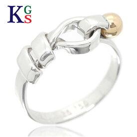 【ギフト品質】【名入れ】ティファニー/Tiffany&co レディース ワイヤーリング 指輪 コンビ K18×Ag925 シルバー×イエローゴールド 1227