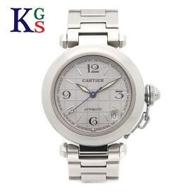 【新古品】カルティエ/Cartier レディース 腕時計 パシャC シルバー× シルバー文字盤 ステンレススチール W31023M7【02】