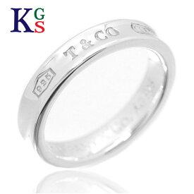 【ギフト品質】【名入れ】ティファニー/Tiffany&co レディース ジュエリー リング 1837 ナローリング Ag925 / 指輪 スターリングシルバー 1227