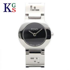 【新古品】フェンディ/FENDI レディース 腕時計 オロロジ ウォッチ クオーツ 黒文字盤 ステンレススチール 3050L