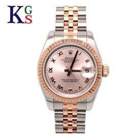 【ギフト品質】ロレックス/ROLEX レディース 腕時計 デイトジャスト ピンクローマ エバーローズゴールド K18PG×ステンレススチール 自動巻き オートマティック 179171