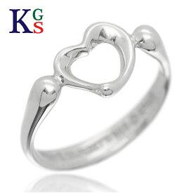 【ギフト品質】【名入れ】ティファニー/Tiffany&co レディース オープンハート リング 指輪 シルバー Ag925 1227