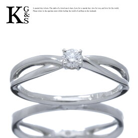 【新古品】【0.12ct】エル/ELLE レディース エンゲージリング 婚約指輪 1Pダイヤ Pt950 プラチナ