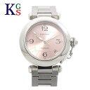 【新古品】カルティエ/Cartier レディース 腕時計 パシャC スモールデイト ピンク文字盤 W31075M7 オートマチック 自動巻き ステンレススチール
