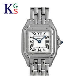 【新古品】カルティエ/Cartier レディース 腕時計 パンテールSM ステンレススチール シルバー クオーツ WSPN0006