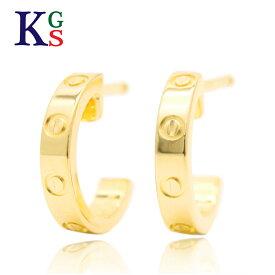 【ギフト品質】カルティエ/Cartier レディース ジュエリー LOVE ラブピアス K18YG イエローゴールド 1227