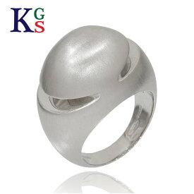 【新古品】ブルガリ/BVLGARI レディース メンズ ジュエリー カボション リング/指輪 ホワイトゴールド K18WG