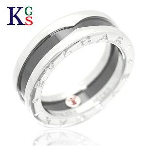 【サステナブル&ギフト品質】【名入れ】ブルガリ/BVLGARI レディース メンズ ジュエリー リング/指輪 ビーゼロワン リング セーブザチルドレン Ag925×セラミック 1015