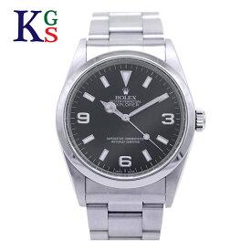 【ギフト品質】ロレックス/ROLEX メンズ 腕時計 エクスプローラー1 ブラック文字盤 ダブルロックバックル クロマライト ステンレススチール スポーツモデル 14270 1227