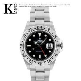 【ギフト品質】ロレックス/ROLEX メンズ 腕時計 エクスプローラー2 ブラック文字盤 ステンレススチール スポーツモデル 16570 1227