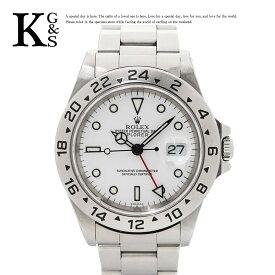 【ギフト品質】ロレックス/ROLEX メンズ 腕時計 エクスプローラー2 ホワイト文字盤 ステンレススチール スポーツモデル ダブルロック 16570 1227