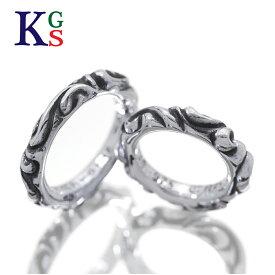 【ギフト品質】【4〜23号】クロムハーツ/CHROME HEARTS ペアリング スクロールバンドリング 指輪 シルバー Ag925 波モチーフ メンズ レディース 誕生日 記念日 プレゼント ギフトラッピング 正規品【中古】