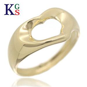 【ギフト品質】【SPECIAL梱包】ティファニー/Tiffany&co レディース エルサ ペレッティ オープンハート リング 指輪 K18YG イエローゴールド 誕生日