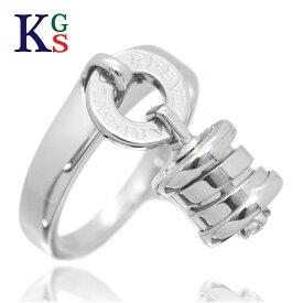 【サステナブル&ギフト品質】ブルガリ/BVLGARI レディース ビーゼロワン エレメント リング 指輪 K18WG ホワイトゴールド 1015