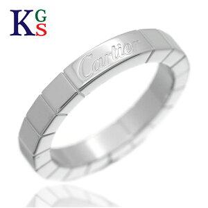 【ギフト品質】【SPECIAL梱包】カルティエ/Cartier ラニエール リング 指輪 ホワイトゴールド/K18WG 誕生日