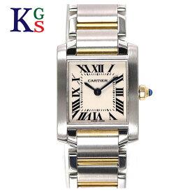 【商品動画】【ギフト品質】カルティエ/Cartier タンクフランセーズ 腕時計 ステンレススチール イエローゴールド/K18YG レディース クオーツ W51007Q4 誕生日 記念日 プレゼント ギフトラッピング【中古】