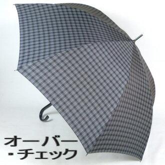 男士伞长度: 70 厘米跳高伞: 米歇尔 · 克莱因 (米歇尔氏族) 一个简单的检查是一个时尚跳伞袋,配件及品牌配件时尚配饰和小遮阳伞给男人新 05P05Dec15