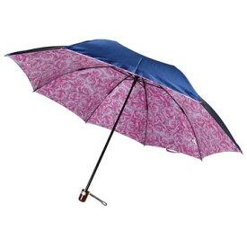 傘 レディース 雨傘 折りたたみ (2段式) 【楽天ランキング3位】『裏花柄(バック/ローズフラワー)』おしゃれ 軽量 グラスファイバー 日本製 外側 無地 内側 薔薇 花柄 綺麗【RCP】バッグ・小物・ブランド雑貨 傘 折りたたみ傘 女性用[傘一番館] 母の日