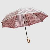 【レビューで5%OFF&送料無料】レディース雨傘長:高級傘甲州織のバラ(パープルブルー)が上品でおしゃれなジャンプ傘:kirie(キリエ)槙田商店〜高品質な日本製