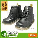 キッズ フォーマル シューズ 子供靴 ブーツ ショート ハンテン レースアップ HANG TEN HT-02955