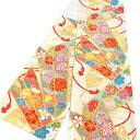 【川島織物 じゅらく】振袖 袋帯 仕立て込み 振袖用 西陣織 新品 販売 購入 未仕立て 反物 六通 古典柄 矢羽 菊 組紐 …