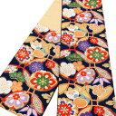 【大光 振袖用 袋帯 仕立て上がり】振袖帯 正絹 西陣織 振袖 礼装 フォーマル 新品 販売 購入 濃紺 ネイビー 輪輪ぎ …
