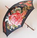 ローズ プレシャス モンブランヤマグチ婦人傘エリザベート・ブラックモンブランヤマグチ ほぐし織り 婦人雨傘軽量カー…