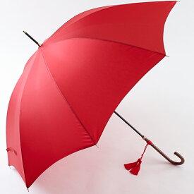 【名入れOK】ワカオ赤い傘◆イマージュ◆センチュリーレッド(長傘)*ハンドルが選べます*【1】ジュエリースリム【2】バンブークラシック【オプション】名前入りチャーム¥3000(税別)=+約1週間*税/送料込み価格*