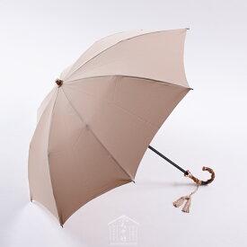 5de70842cf5f ワカオ ジョアンヌ Excel-Mode47(ベージュ)WAKAO 晴雨兼用折畳47cm折UV