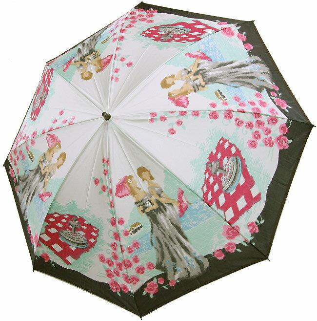 【泉の貴婦人】モンブランヤマグチほぐし織り(二段折畳傘)