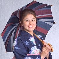 日傘 和木綿(わもめん)パラソル 婦人傘(竹宝)