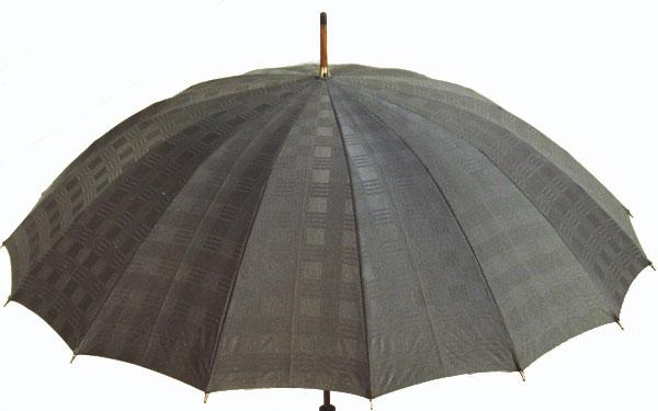 ■前原光榮Gentle 16(グレー) 楓(かえで)ハンドル皇室御用達 前原光榮商店 紳士雨傘お名前彫りなしは即納できますお名前彫り有の場合は12/6(水)頃仕上がり予定心斎橋みや竹オリジナル仕様