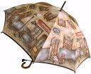 【NEW】窓(ダンテ) 婦人雨傘・長傘モンブランヤマグチほぐし織り軽量カーボン骨バージョン(約360g)