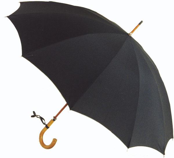 【受注生産】所要約2ヶ月◆◆Malacca Dandy12(ブラック) (63.5cmx12ken レギュラーサイズのマラッカダンディ)「皇室御用達」前原光榮商店 紳士雨傘)心斎橋みや竹オリジナル仕様