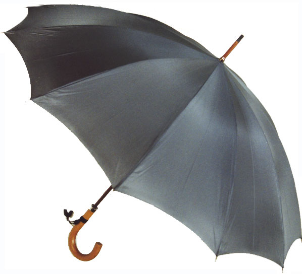 【受注生産】所要約2ヶ月◆Malacca Dandy12 (グレイ)(63.5cmx12ken レギュラーサイズのマラッカダンディ)「皇室御用達」前原光榮商店 紳士雨傘)心斎橋みや竹オリジナル仕様