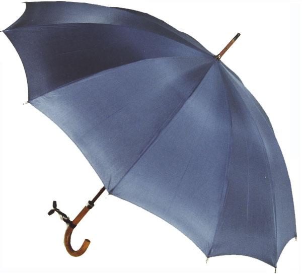 【受注生産】所要約2ヶ月◆Malacca Dandy12(ブルーグレイ) (63.5cmx12ken レギュラーサイズのマラッカダンディ)「皇室御用達」前原光榮商店 紳士雨傘)心斎橋みや竹オリジナル仕様