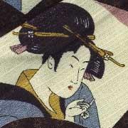 ◆美しき日本にこの美しき傘あり◆ジェイ・アンソロジー(浮世絵/美人画)晴雨兼用傘 KOMIYA