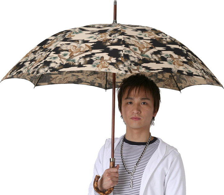 ◆男の日傘 男性用日傘◆ミスター・シーグル◆ブラック心斎橋みや竹オリジナル