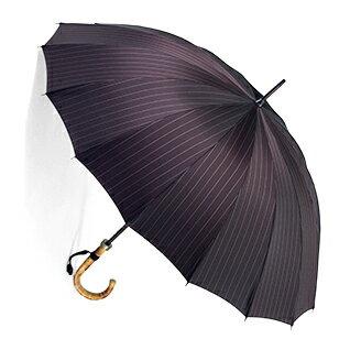 ■前原光榮Euro Prince16 (ディープ・インディアンレッド )「皇室御用達」前原光榮商店 紳士雨傘お名前彫り有の場合は7/11(水)仕上がり予定