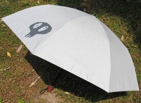 史上最強の男性用日傘McRossa(マクロッサ)Ver.2019【色】Perpetual Gray(パーペチュアル・グレー)遮光100%UVカット99%以上 ヒートブロック遮熱仕様いとうせいこうさんのDocrotがプリントされた二段折畳傘。