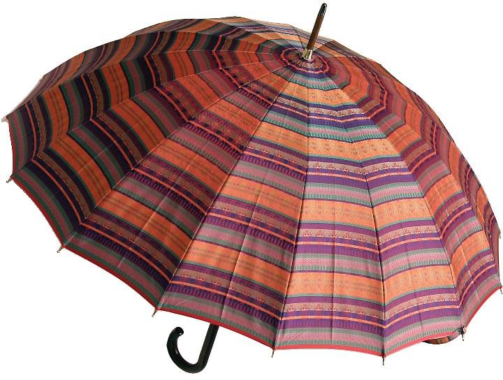 【受注作成品】8月上旬仕上予定前原光榮シエラザード(ジュエルレッド) 「皇室御用達」 前原光榮商店婦人雨傘※現バージョンは楓ウェイブ型ハンドルになりタッセル(房)がつきますみや竹オリジナル仕様