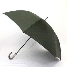 【男性用傘 カサ かさ】FRANCO FERRAROフランコ・フェラーロ「縞柄」紳士ポリエステル先染 メンズワンタッチ雨傘