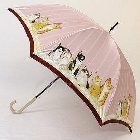 【レディース傘 カサ かさ】おしゃれ レディース婦人傘マンハッタナーズ傘MASTERPIELE COLLECTION「若かったころ」レディースワンタッチ雨傘