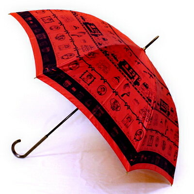 【日経ウーマンオンライン掲載商品】【楽ギフ_包装】mimi pinsonミミ・パイソン「パリジェンヌの休日」婦人用軽量雨傘